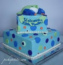 custom baby shower cakes peche petite