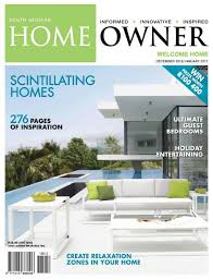 Home Decor Magazines In South Africa Sa Home Owner May 2016