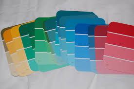custom 25 paint sample design decoration of practice paint sample