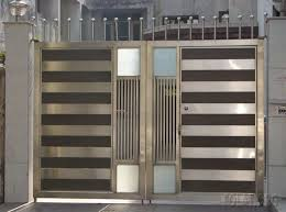 Japanese Stainless Steel Gate Design for 6 M Lengt with