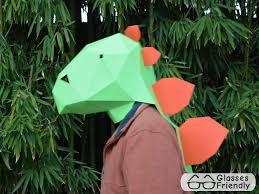 dinosaur costume patterns make your own halloween masks