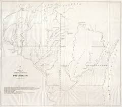 Wisconsin Map by File 1848 Public Survey Map Of Wisconsin Geographicus Wi Gs