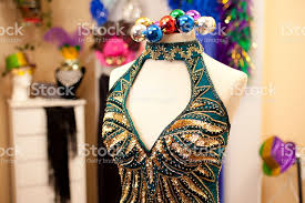 dressing for mardi gras mardi gras dress jewelry masks evening gown boutique stock photo