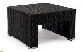 tavolino da terrazzo tavolino da esterno in vimini cube arredo design