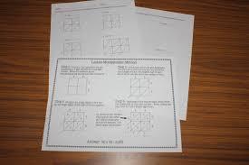 lattice method of multiplication