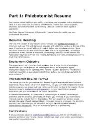 Entry Level Phlebotomy Resume Examples by Entry Level Phlebotomy Resume Template Examples
