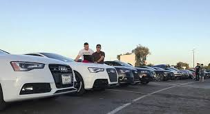 audi in san diego san diego mopar swarms the fate of the furious at the south
