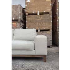 ethnicraft canapé canape ethnicraft sofa et201 2 5 places gris idees fr