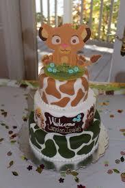 Lion King Baby Shower Cake Ideas - lion king baby shower cake babybumps