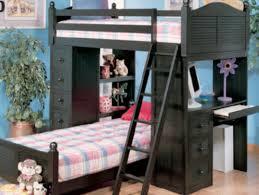 newton black student loft bed