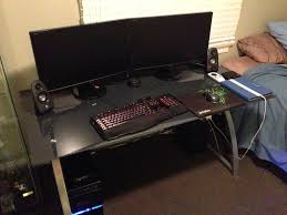 Best Gaming Computer Desks by Best Custom Pc Gaming Computer Desk Ideas Minimalist Design Loversiq