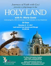 holy land pilgrimage catholic holy land fatima and more tours and pigrimages select