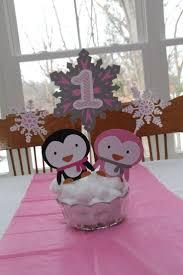 Penguin Baby Shower Decorations 24 Best Makenzlees 2nd Birthday Images On Pinterest Penguin