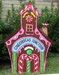 Christmas Cutout Decorations Wood Cut Out Christmas Yard Decorations Google Search