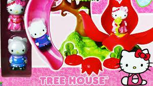 hello kitty tree house youtube