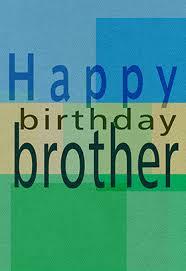 birthday brother greetings