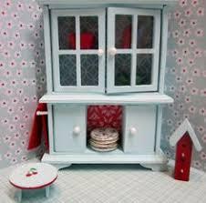 Cottage Kitchen Hutch Apple Cottage Kitchen Hutch Dressed Twelfh Scale Dollhouse