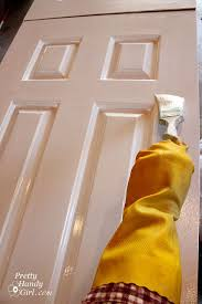 how to paint doors the professional way pretty handy