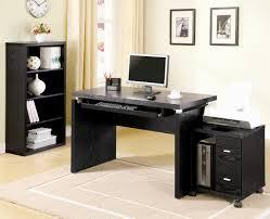 impressive office computer setup black white and pink dental