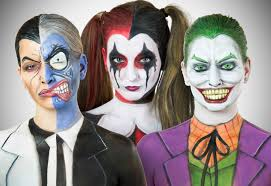 the joker and harley quinn halloween costumes oldschool batman transformation series youtube