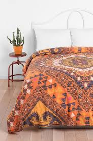 Yellow Patterned Duvet Cover Magical Thinking Kilim Medallion Duvet Cover Love The Idea Of A