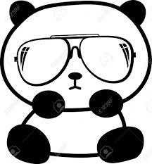 coloring page nice drawings of a panda baby drawing draw
