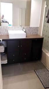 2110 best bathroom shower images on pinterest bathroom bathroom kallax bathroom vanity for small bathroom ikea hackers