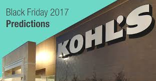 kohl s ps4 black friday kohl u0027s black friday 2017 deal predictions start times ads