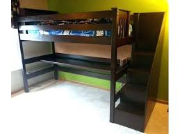 Loft Bunk Bed With Stairs Loft Desk Bed Desk Bed Combo For Adults Bed Desk Combo Cool Bunk