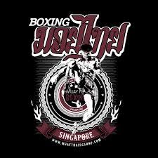 muay thai t shirt muay thai boxing singapore