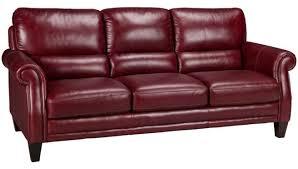 Greccio Leather Sofa Burgundy Leather Sofa Sanblasferry