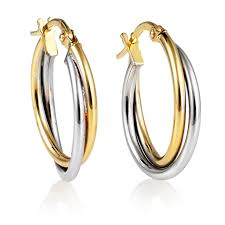 gold hoop earrings uk gold hoop earrings swag uk jewellers