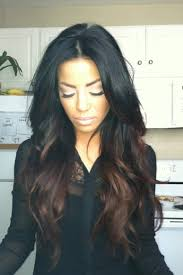 ambry on black hair dark brown ombre on black hair hairstyle for women man