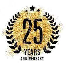 twenty fifth anniversary twenty fifth anniversary stock vectors royalty free twenty fifth