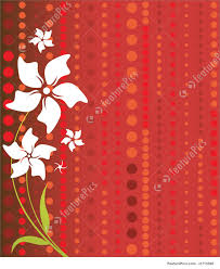 Shaeds Of Red by Flowers White Flowers On Red Stock Illustration I1715590 At
