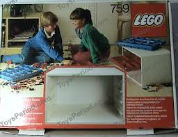 lego 759 storage cabinet set parts inventory and instructions
