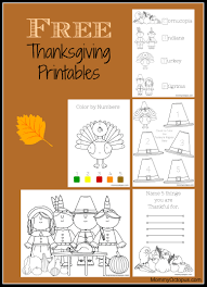 free thanksgiving printable activity sheets octopus