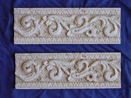 roman tile border edging concrete or plaster mold 6009