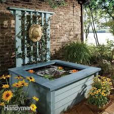 elegant outdoor fountain pond outdoor pond ideas pond in a box the