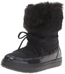 womens boots amazon uk crocs s lodgeptlacebtw boot amazon co uk shoes bags
