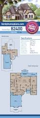 french country house plan 82400 total living area 2 979 sq ft 4