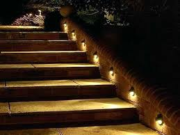 full image for led deck stair lighting kit outdoor step kits automatic attractive ideas lights light