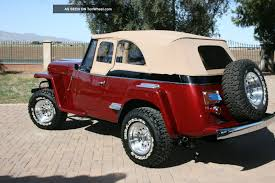 1948 willys jeepster 1951 willys jeepster information and photos momentcar