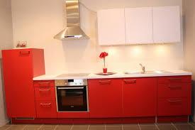 singelküche rote singel küche