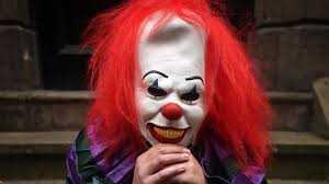 killer clowns itv news