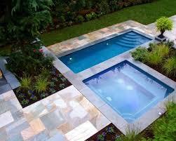 Pool Spa Design Houzz - Backyard spa designs