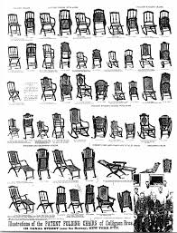 Rocking Chair Drawing Plan Invention Of First Folding Rocking Chair In U S