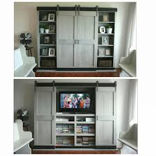 Build Sliding Cabinet Doors White Sliding Door Cabinet For Tv Diy Projects