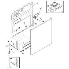 kenmore dishwasher parts model 58715252402 sears partsdirect