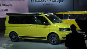new volkswagen bus yellow volkswagen tristar signals the vw t6 van is coming live photos